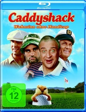 Caddyshack - Blu-ray cover