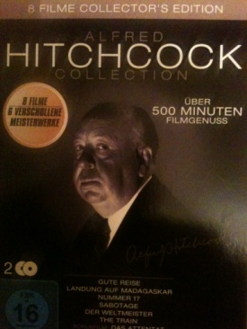 Alfred Hitchcock Collection - DVD cover