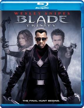Blade: Trinity - Blu-ray cover