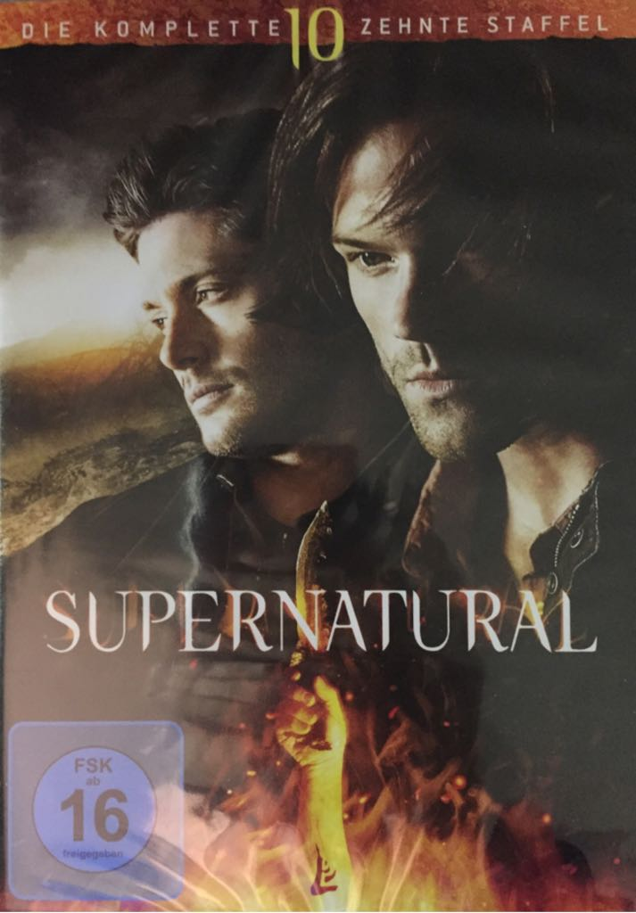 Supernatural - DVD cover