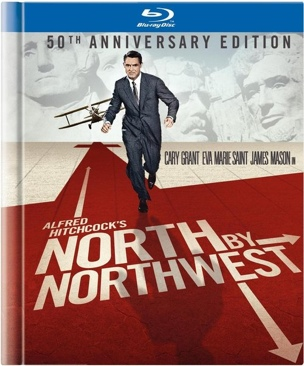 North by Northwest - Blu-ray cover