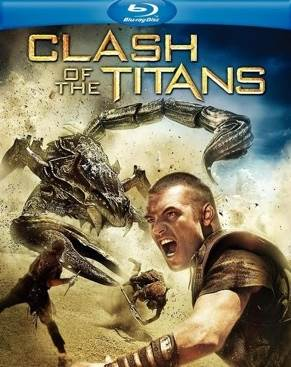 Clash Of The Titans - Blu-ray cover