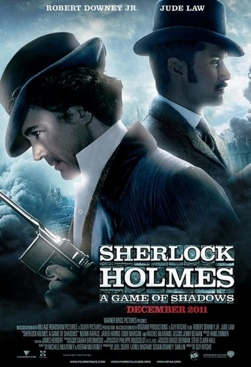 Sherlock Holmes: A Game of Shadows - Blu-ray cover