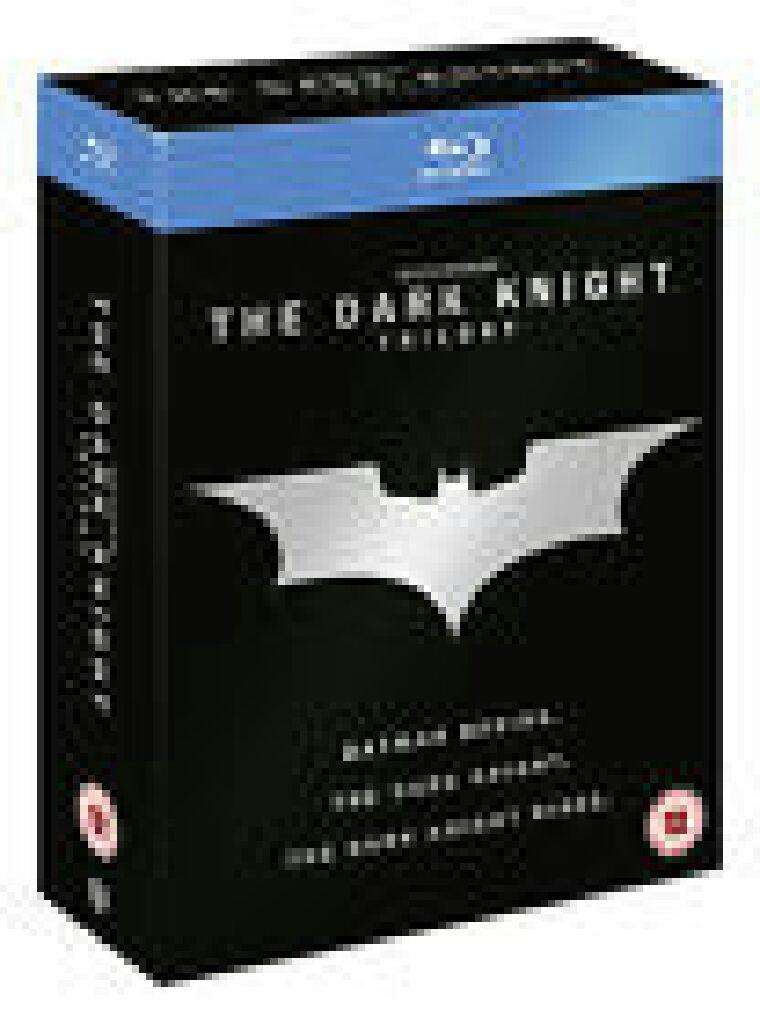 Batman: Dark Knight Trilogy -  cover
