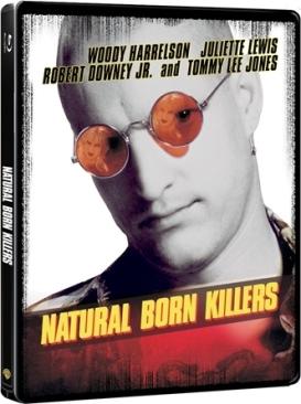 Natural Born Killers - Blu-ray cover