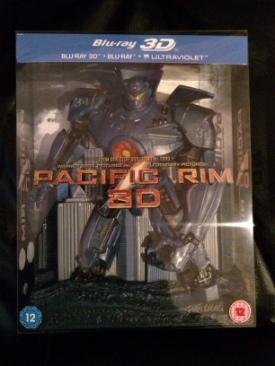 Pacific Rim 3D - Blu-ray cover