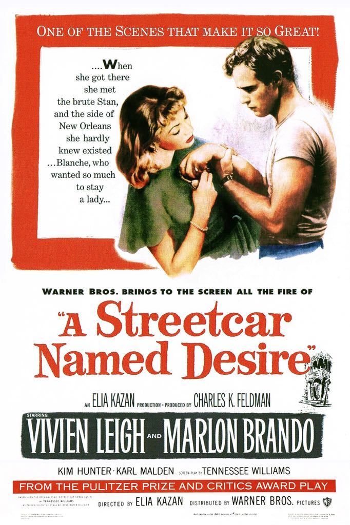 A Streetcar Named Desire -  cover