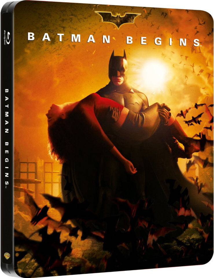 Batman Begins (Steelbook) -  cover