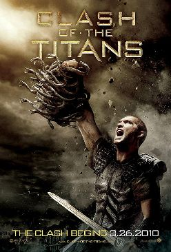Clash Of The Titans - DVD cover