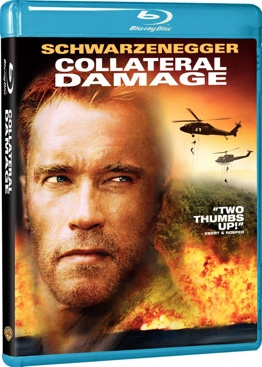 Collateral Damage - Blu-ray cover