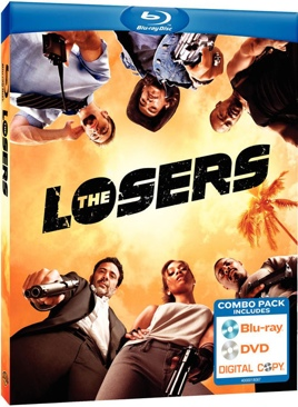 The Losers - Blu-ray cover