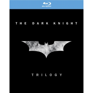 The Dark Knight Trilogy - Blu-ray cover