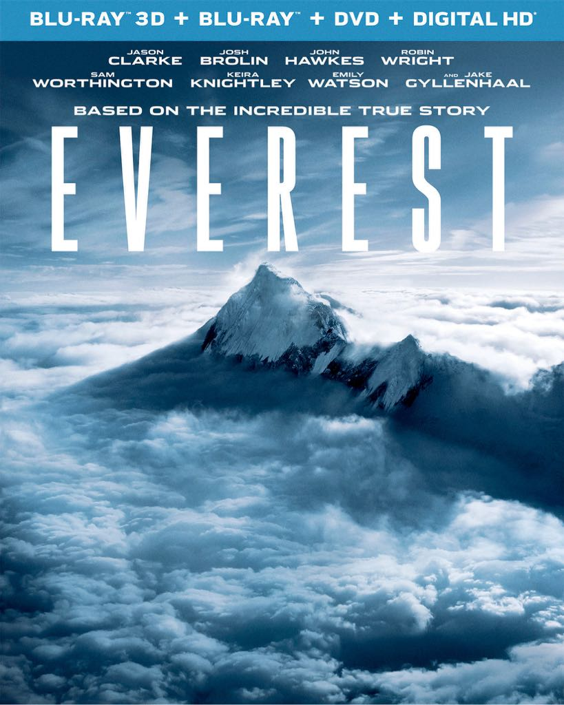 Everest 3D - Blu-ray cover