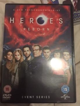 Heroes Reborn - DVD cover