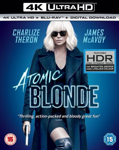 Atomic Blonde -  cover