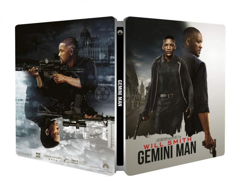 Gemini Man - Steelbook -  cover