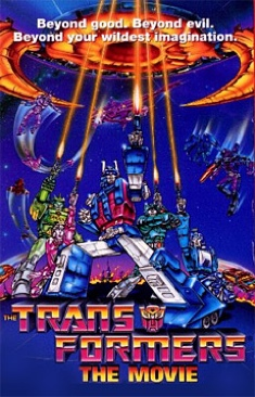 Transformers: The Movie - DVD cover