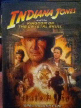 Indiana Jones and the Kingdom of the Crystal Skull - DVD cover