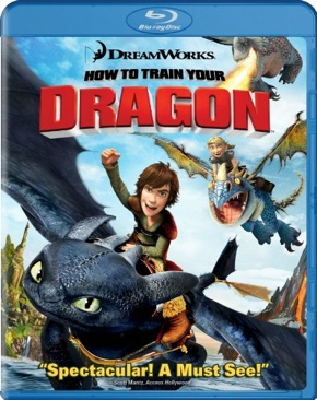 How to Train Your Dragon - Blu-ray cover