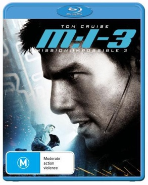 Mission Impossible III - Blu-ray cover
