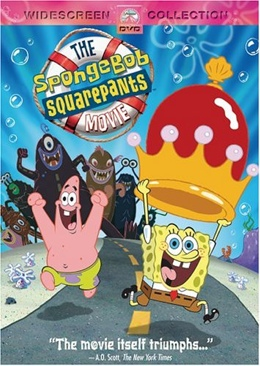 The SpongeBob SquarePants Movie - DVD cover