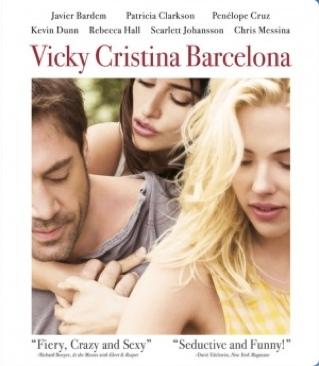 Vicky Cristina Barcelona - Blu-ray cover