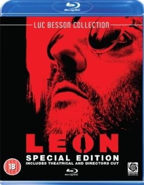 Leon - Blu-ray cover