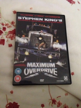 Maximum Overdrive - DVD cover