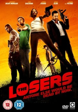 The Losers - DVD cover