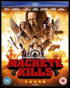 Machete Kills - Blu-ray cover