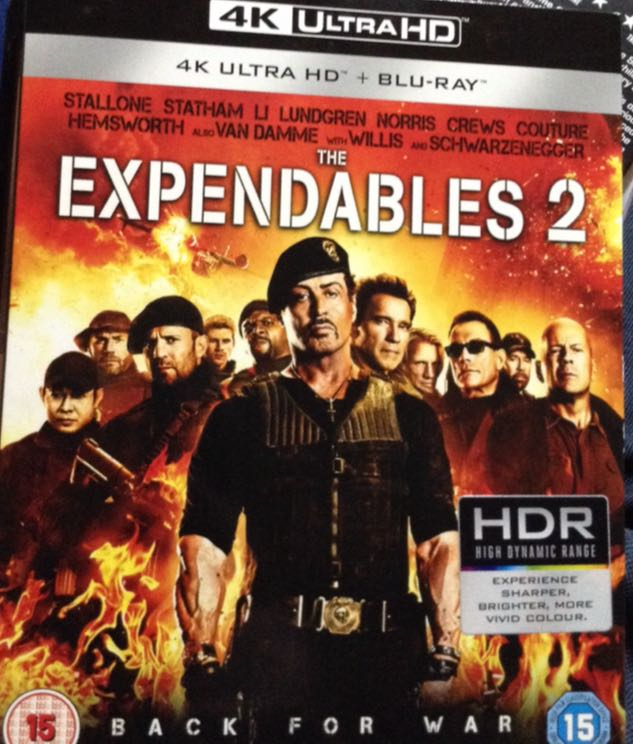 The Expendables 2 -  cover