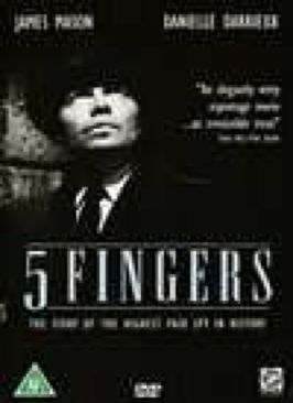 5 Fingers - DVD cover