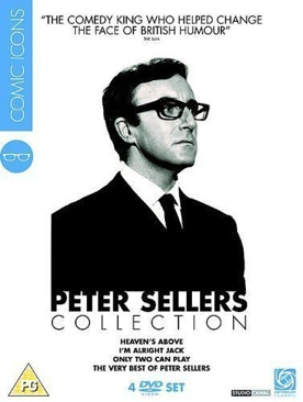Peter Sellers: Comic Icons Collection - DVD cover