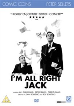 I'm Alright Jack - Blu-ray cover