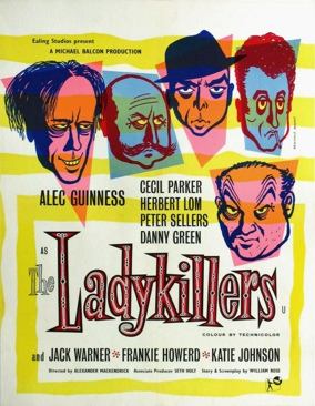 The Ladykillers - DVD cover