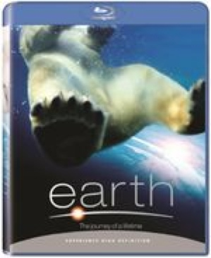 Earth: The Journey of a Lifetime - Blu-ray cover