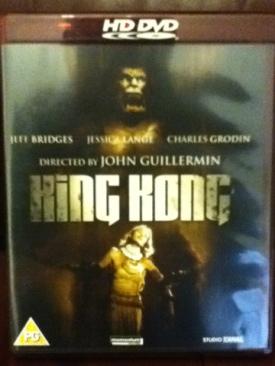 King Kong - HD DVD cover