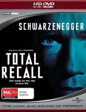 Total Recall - HD DVD cover