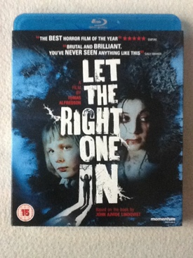 Let the Right One In - Blu-ray cover