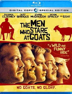 The Men Who Stare at Goats - DVD cover