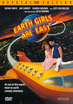 Earth Girls are Easy - DVD cover