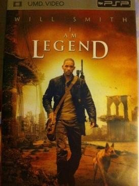 I Am Legend - UMD cover