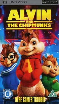 Alvin and the Chipmunks - Video CD cover