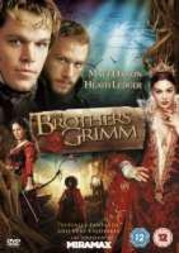 The Brothers Grimm - DVD cover