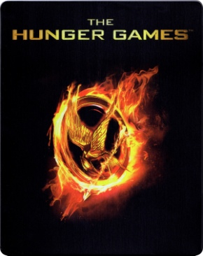 Hunger Games 1 - Blu-ray cover
