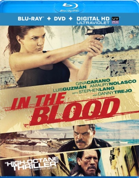In The Blood - Blu-ray cover