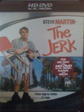 The Jerk - HD DVD cover