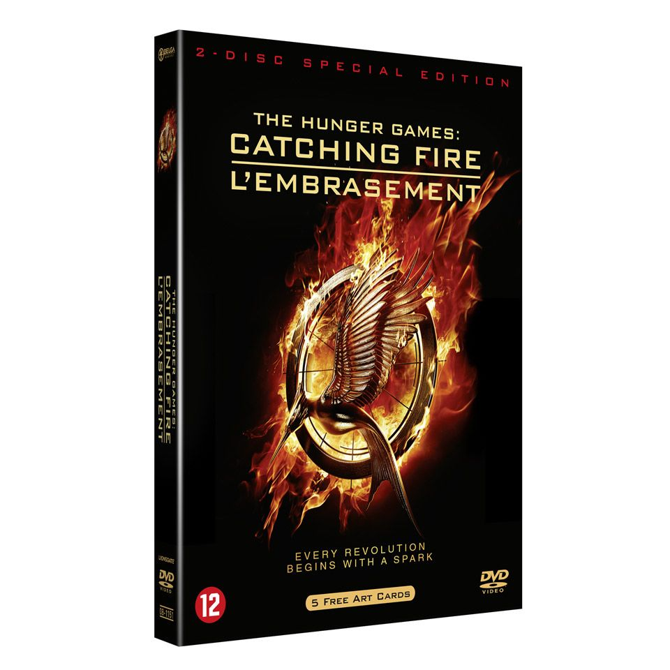 The Hunger Games 2: Catching Fire -  cover