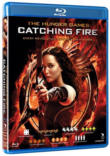 Hunger Games 2: Catching Fire -  cover