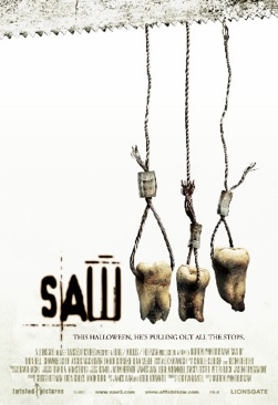 Saw III - DVD cover